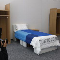 letti di cartone olimpiadi tokyo 2020