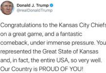 Donald Trump errore Kansas City Missouri