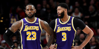 LeBron James e Anthony Davis