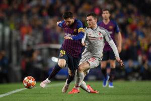 Messi e Robertson