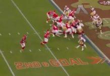 Patrick Mahomes touchdown