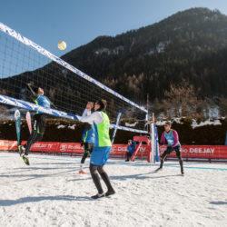mizuno snow volley marathon