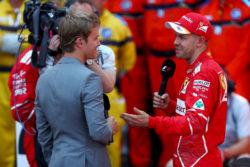 """Formula 1    Rosberg consiglia Vettel    """"i suoi problemi con la Ferrari? Deve battere i pugni sul tavolo"""""""