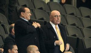 Berlusconi e Galliani