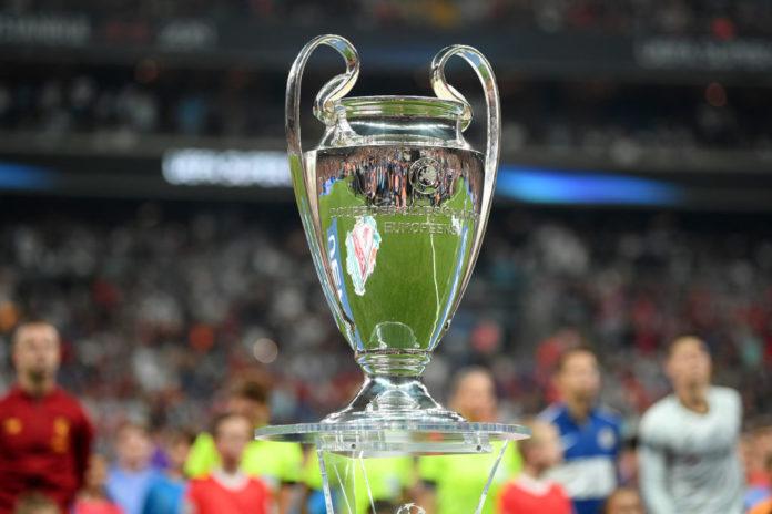 Champions League trofeo coppa