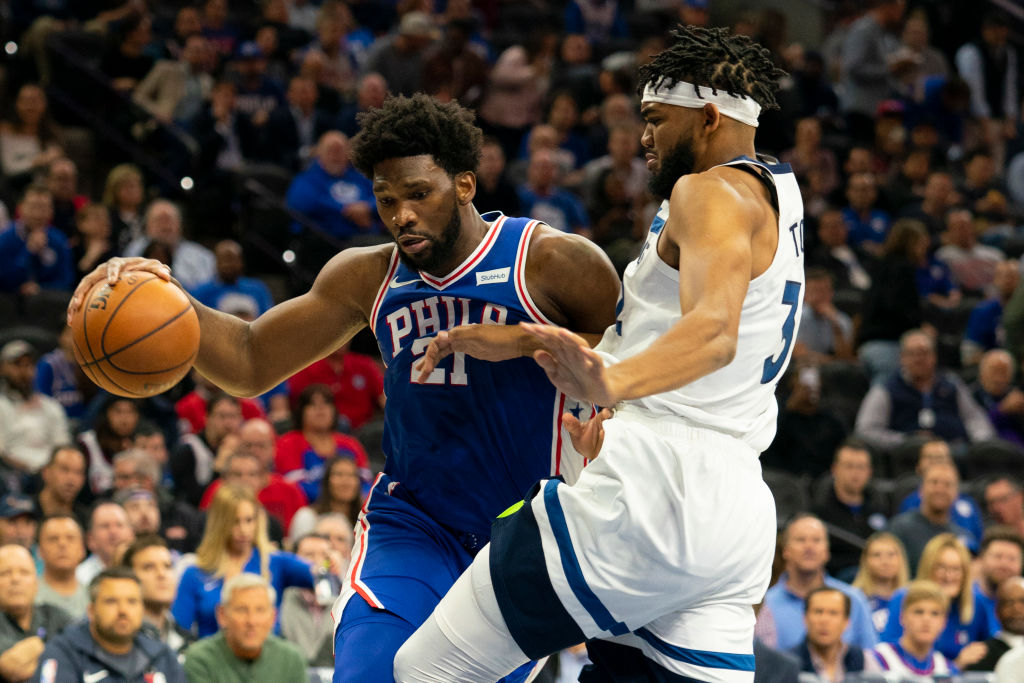 Joel Embiid Karl-Anthony Towns