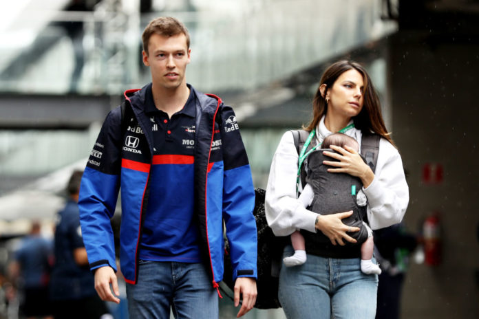 Kvyat e Kelly Piquet