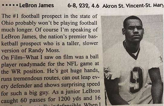 LeBron James Football
