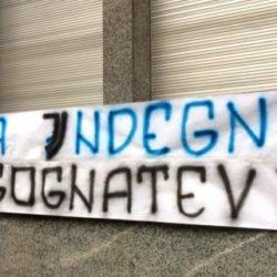 Striscione Inter Juventus