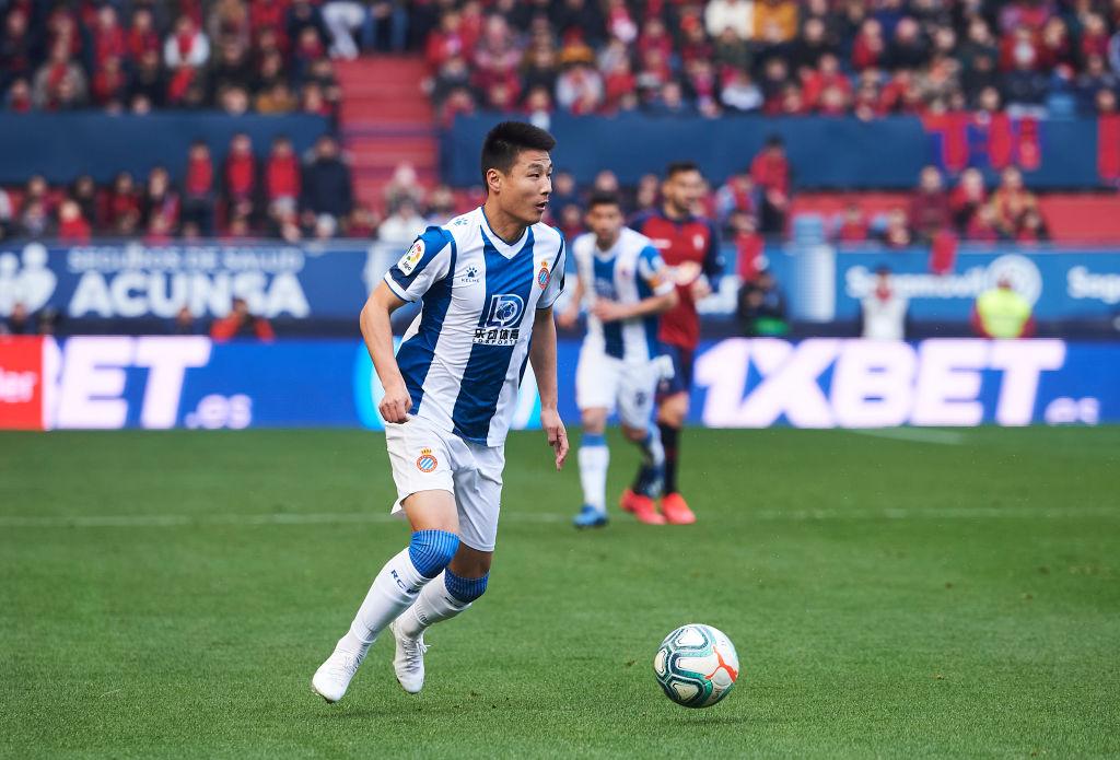 Wu Lei Espanyol