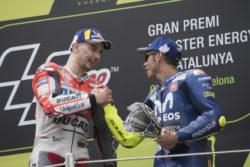 """Futuro Ducati, l'analisi di Valentino Rossi: """"Dovizioso prima opzione, ma attenzione a Jorge Lorenzo"""""""