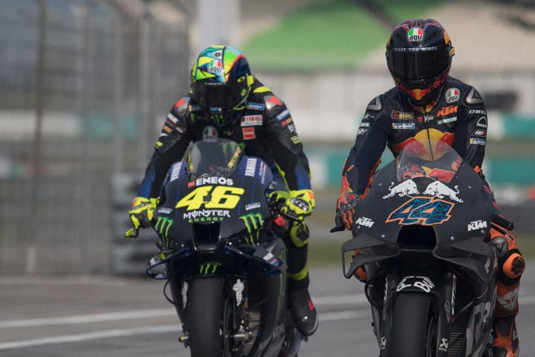 Rossi e Pol Espargaro