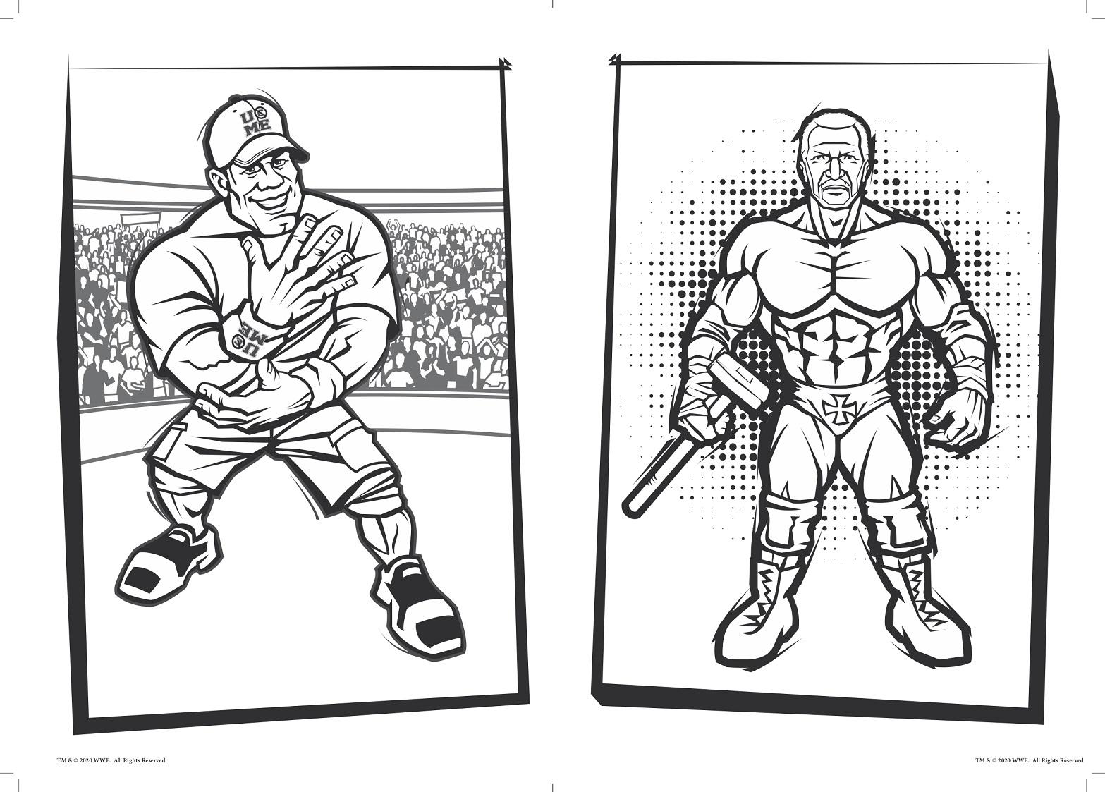 Wrestling Da Colorare.Coronavirus La Wwe Pensa Ai Piu Piccoli Libro Da Colorare Pixel Puzzle E Aj Styles