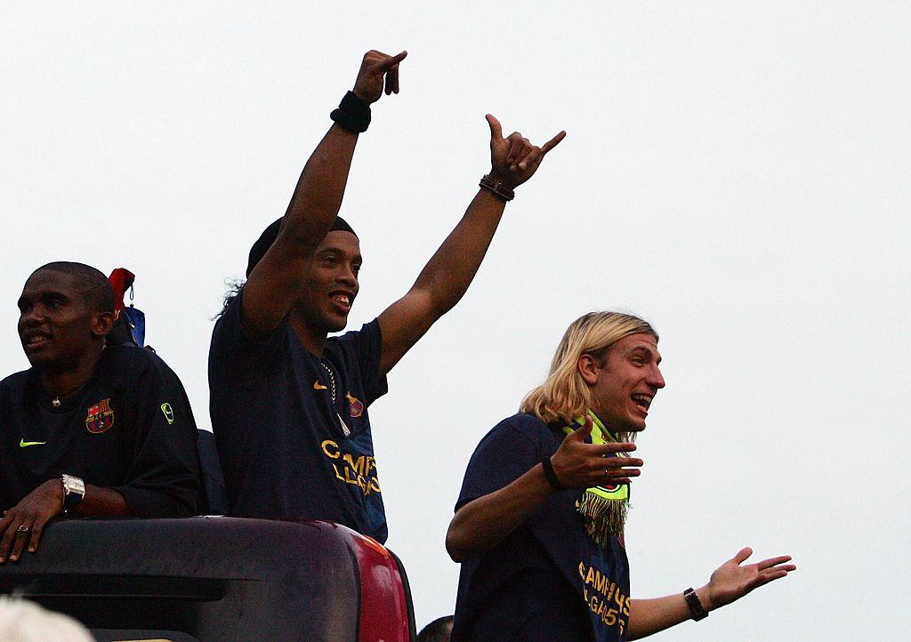Maxi Lopez e Ronaldinho