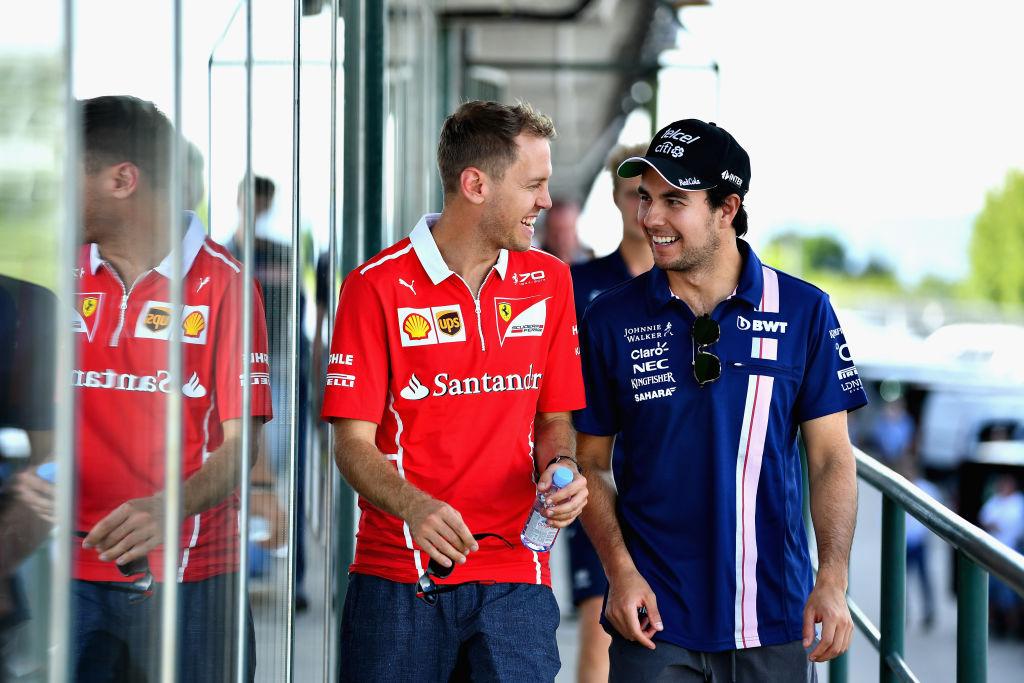 Perez e Vettel