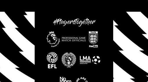 Premier League protesta contro razzismo