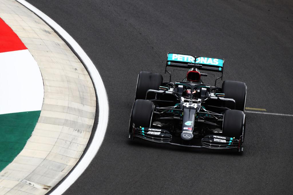 Hamilton in macchina