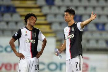 Ronaldo e Cuadrado