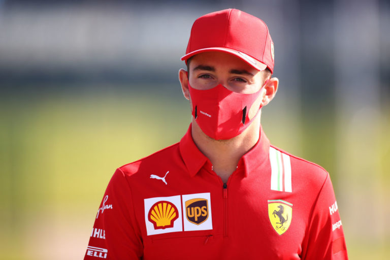 Leclerc GP Silverstone