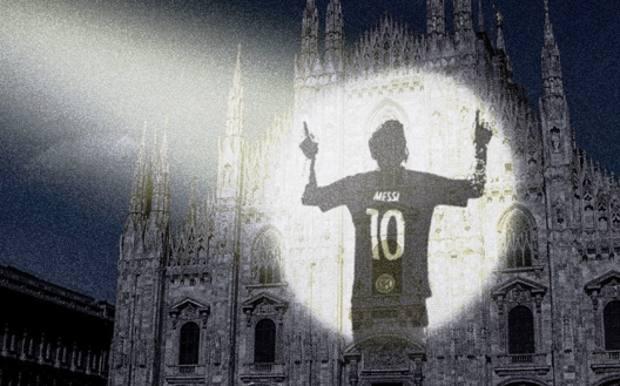 Messi Duomo Milano