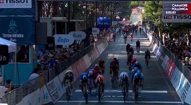 Pascal Ackermann vittoria seconda tappa Tirreno-Adriatico