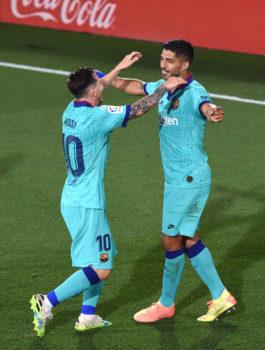 Messi e Suarez