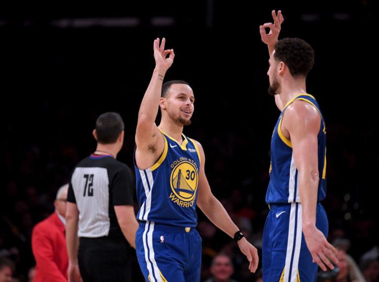 Curry e Thompson