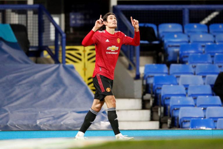 Edinson Cavani, in scadenza di contratto il 30 giugno 2021 con il Manchester United (Clive Brunskill/Getty Images)