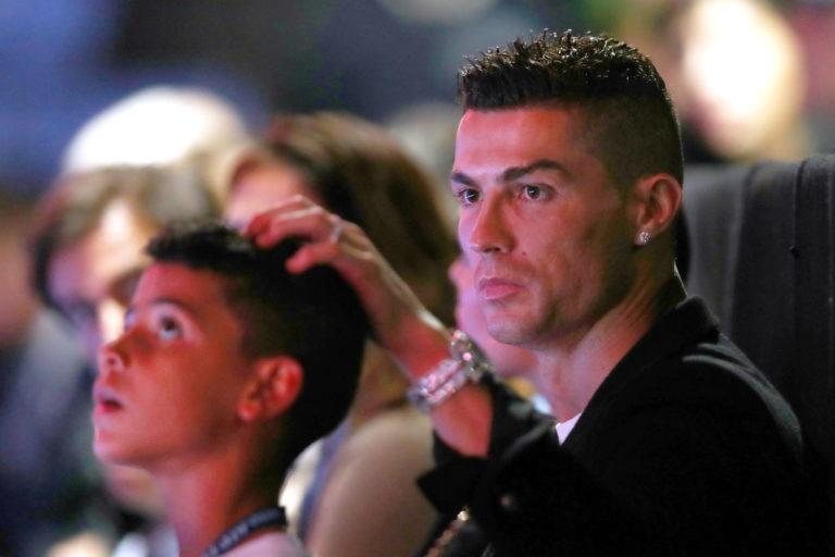 Ronaldo e figlio