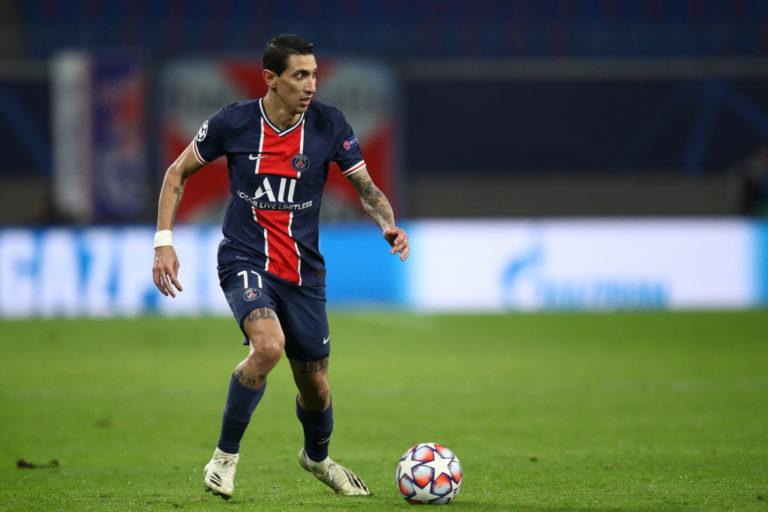 Angel Di Maria,  in scadenza di contratto il 30 giugno 2021 con il PSG (Maja Hitij/Getty Images)