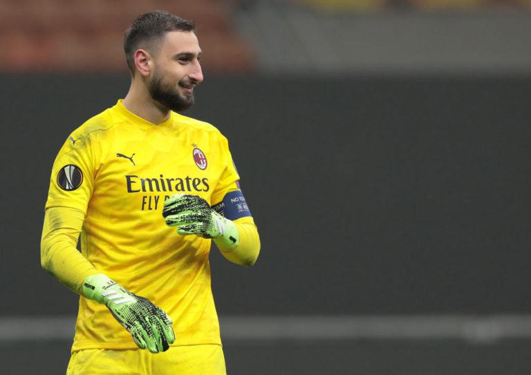 Gianluigi Donnarumma,  in scadenza di contratto il 30 giugno 2021 con il Milan (Emilio Andreoli/Getty Images)