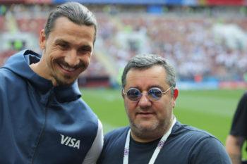 Raiola e Ibrahimovic