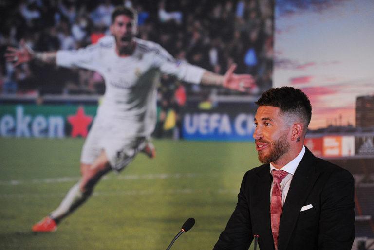 Sergio Ramos,  in scadenza di contratto il 30 giugno 2021 con il Real Madrid (Denis Doyle/Getty Images)