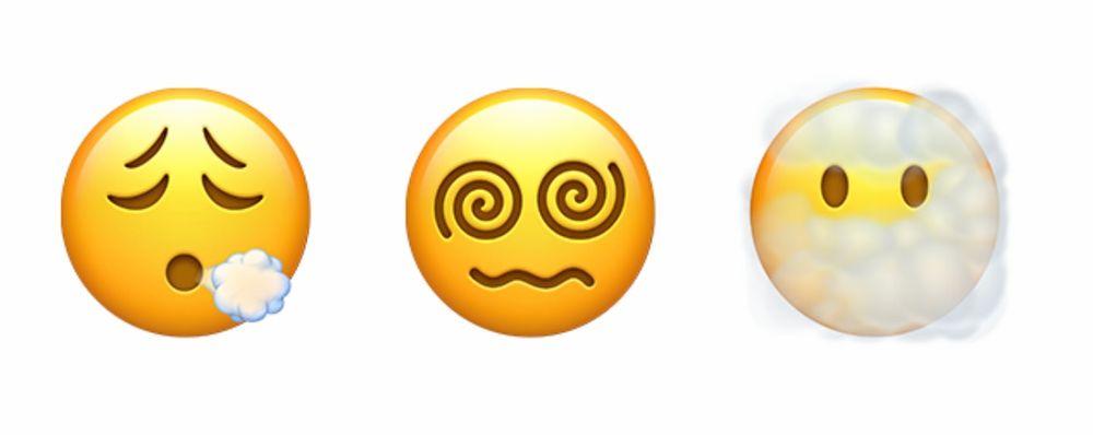nuove emoji smiley