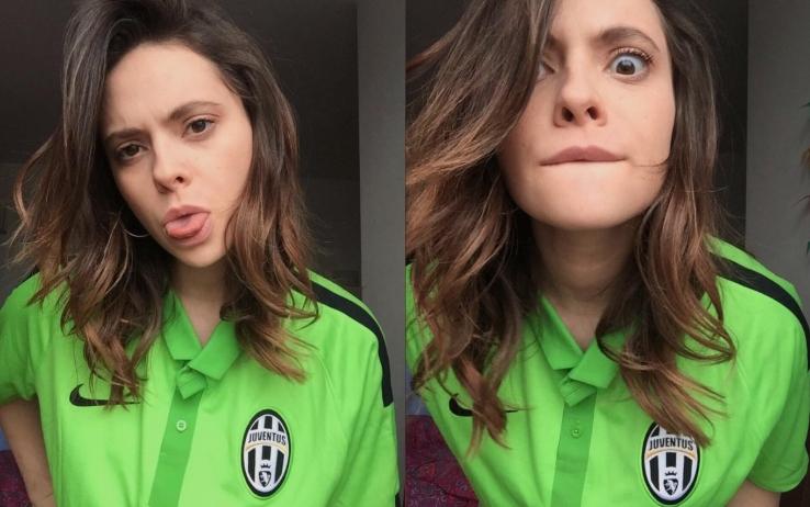 Francesca Michielin è tifosa sfegatata della Juventus - Foto Instagram