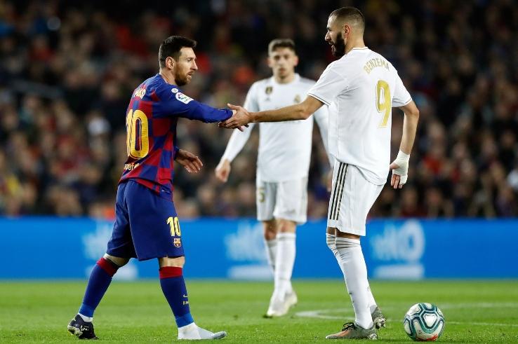 Messi e Benzema