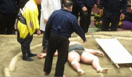 morto lottatore di sumo hibikiryu