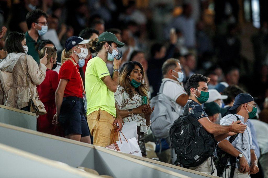 Pubblico Roland Garros