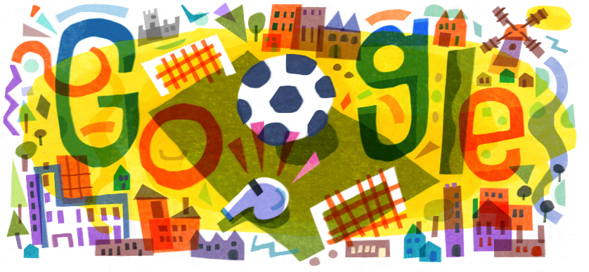 campionato europei di calcio 2020 doodle google