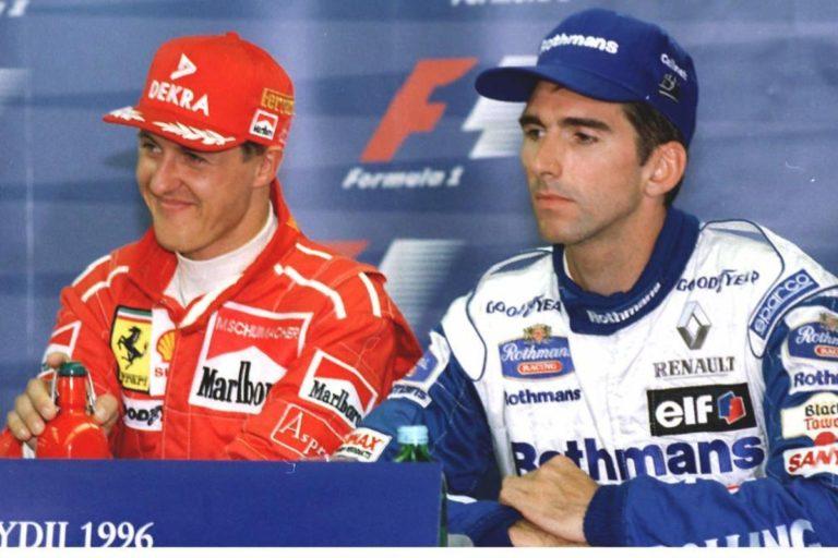 Schumacher e Hill