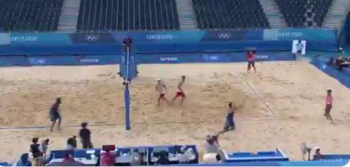 beach volley nicolai lupo