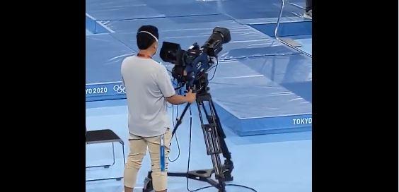 cameraman trampolino