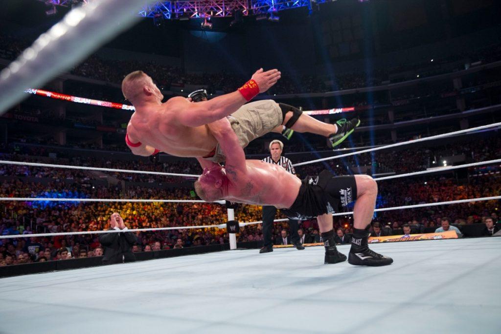 John Cena e Brock Lesnar