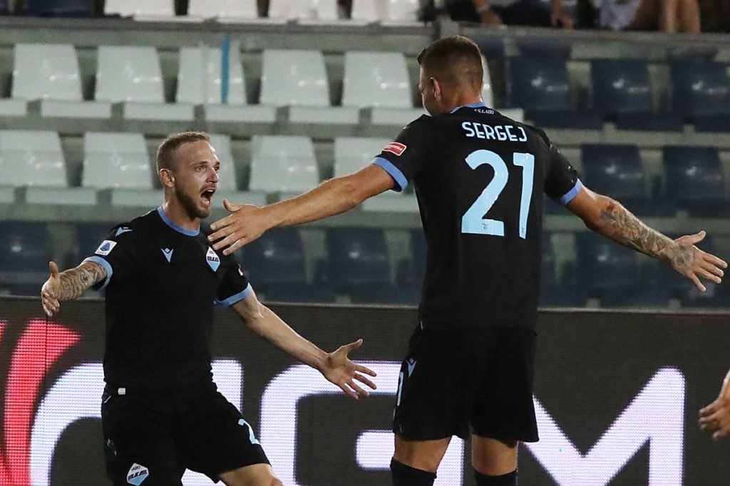 Lazzari e Milinkovic