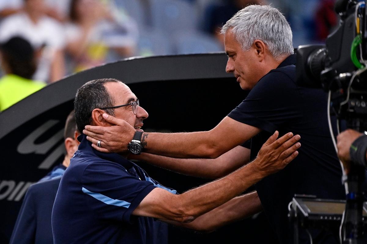 Mourinho e Sarri