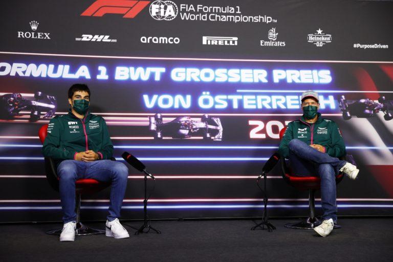 Vettel e Stroll