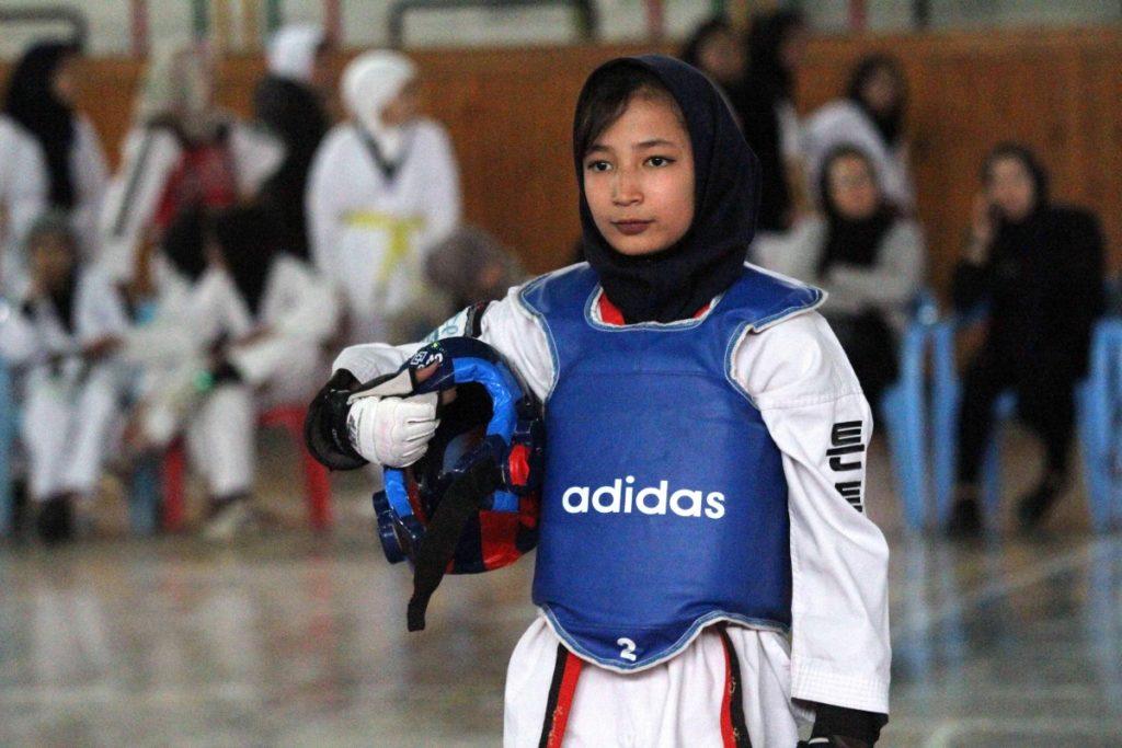 atleta afghana